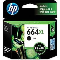 Cartucho HP - 664XL Preto Original (F6V31AB)