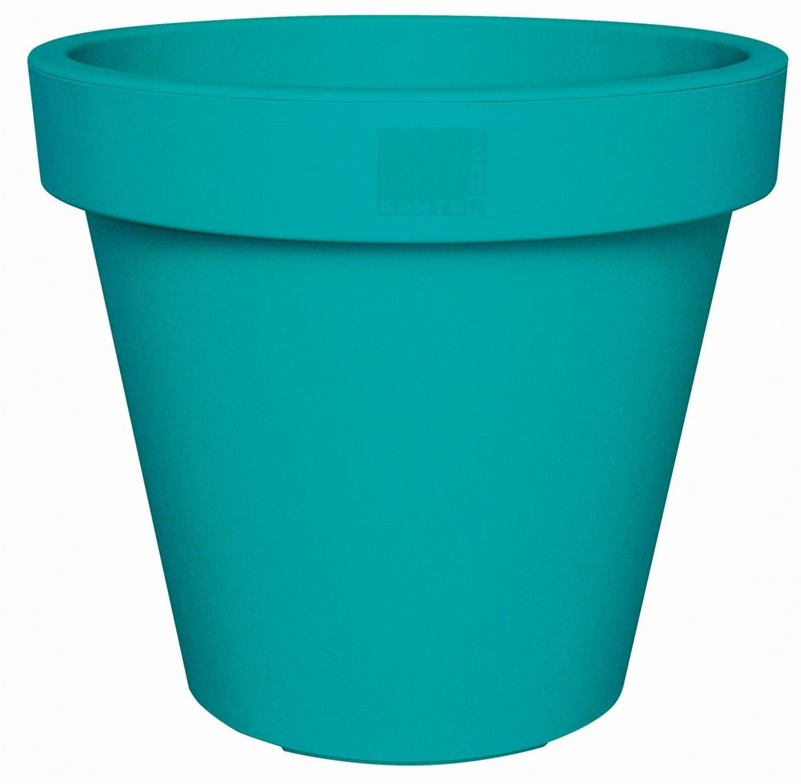 Bright Coloured Plant Pots Large Medium Small Planters Pink, Lime Green & Teal (25cm, Lime Green) Koop