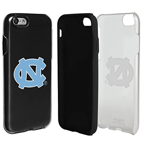 0257d5fd0a2ede Image Unavailable. Image not available for. Color  North Carolina Tar Heels  Clear Hybrid Case for iPhone 6 ...