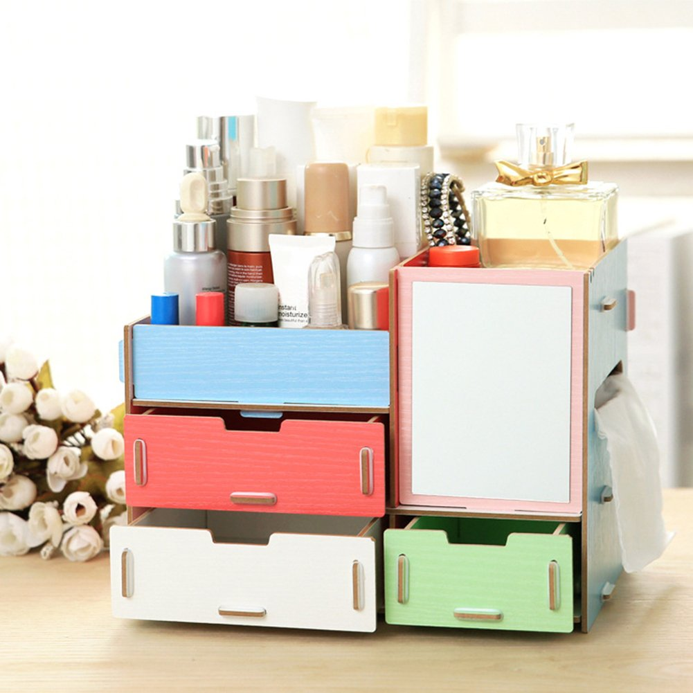 Finance Plan European Style Solid Wooden Cosmetic
