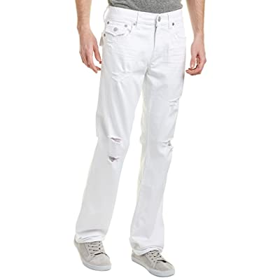 True Religion Men's Ricky Straight with Flap Back Pockets: Clothing