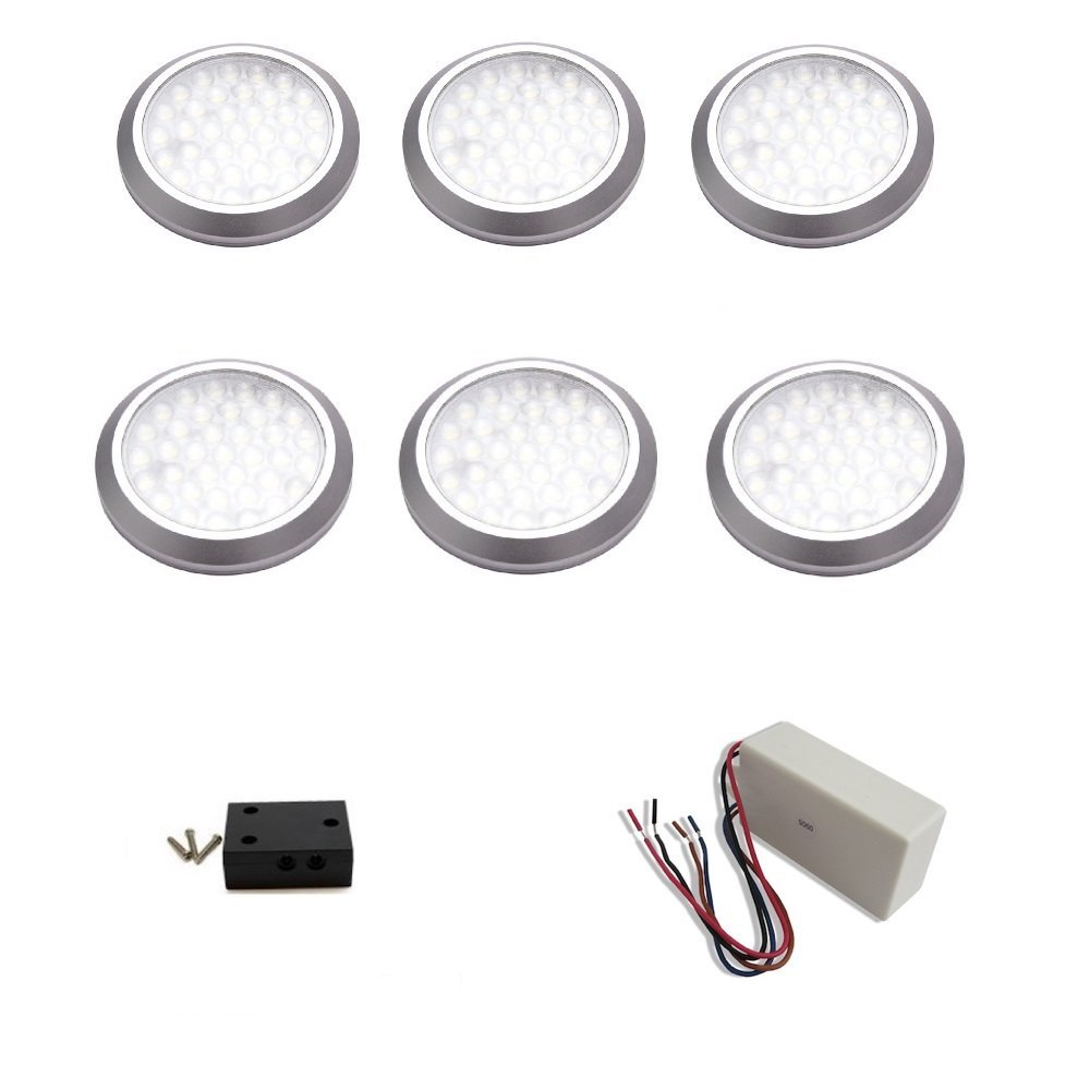 Led Puck Light Wiring Diagram Motorcycle Puckwiringdiagram Enchanting Wired Lights Ensign Electrical And