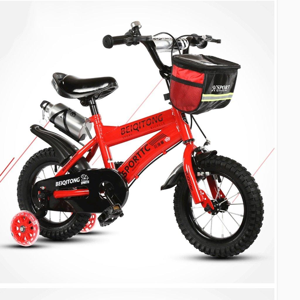 DGF 子供の自転車2-10歳の自転車の赤ちゃんの女の子の赤ちゃんのキャリッジ14/16/18/20インチ屋外の子供の自転車 (色 : 赤, サイズ さいず : 16 inches) B07F13JVZZ 16 inches|赤 赤 16 inches