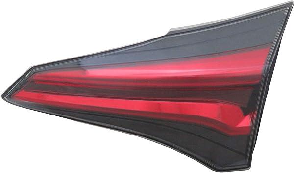 Tail Lamp Assembly Passenger Side Inner Fits Toyota RAV4 2016-2017 TO2803133