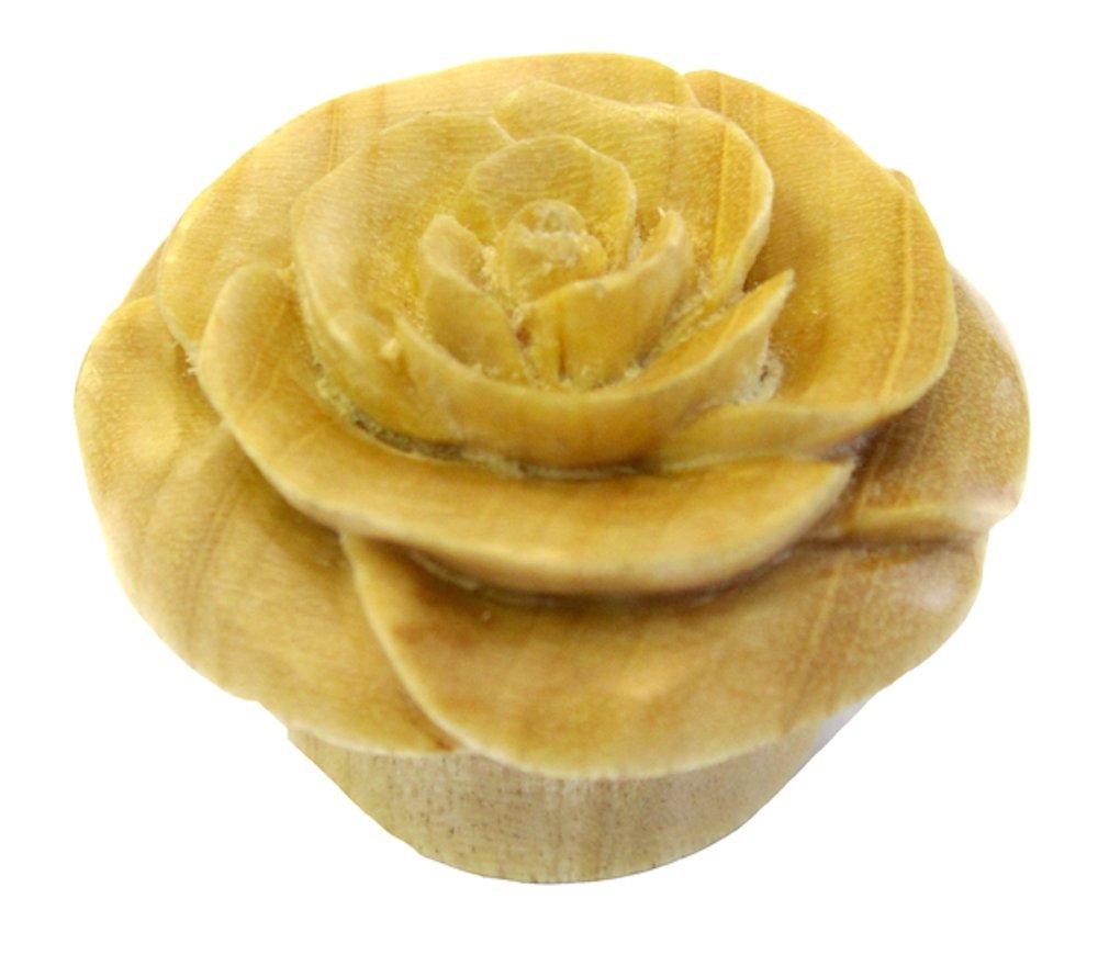 WildKlass White Rose Plugs (Sold as Pairs) (1 3/4)