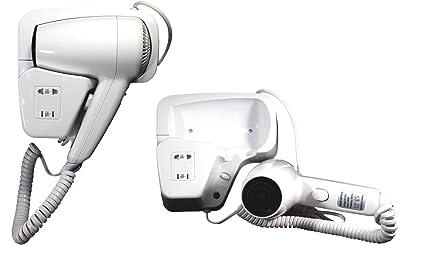SCHOP17 - Secador de pelo de pared, ideal para baños de hoteles y vestuarios
