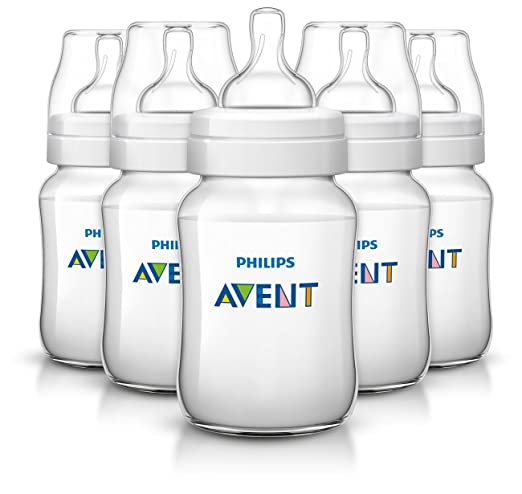 Philips AVENT Classic Plus BPA Free Polypropylene Bottles