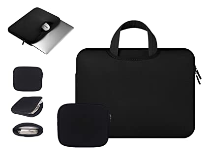 Anitech® Funda PC portátil/funda/caja mango bolsa, MacBook Laptop Sleeve para