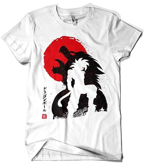 Camisetas La Colmena 4022-Ozaru Goku ssj4 - Dragon Ball (albertocubatas): Amazon.es: Ropa y accesorios