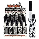 Mini BBQ Lighters Multi Purpose 5-Pack (Black & White)
