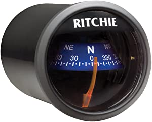 1 - Ritchie X-21BU RitchieSport Compass - Dash Mount - Black/Blue