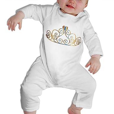 Amazon.com: Traje de princesa de manga larga para bebés y ...