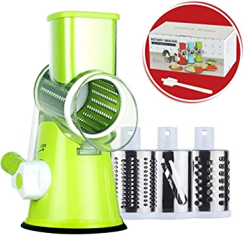 Rotary Graters Strong Round Cheese Slicer