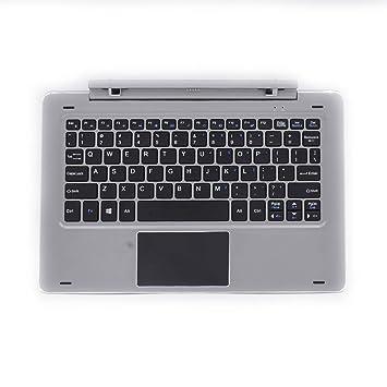 CHUWI Teclado de Acoplamiento Magnético Teclado Portátil Separable 0~120 Eje de Rotación Hi10 Plus con 2 Stardard Puerto USB Color Gris: Amazon.es: ...