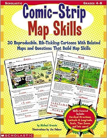 Comic-Strip Map Skills, Grades 4-8