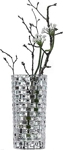 Nachtmann Vase Dancing Stars Bossa Nova, Crystal Glass, 20 cm, Made in Germany, 82088