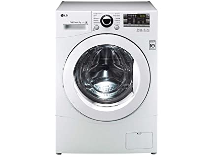 Lg f a tda waschmaschine mit xxl bullauge a frontlader