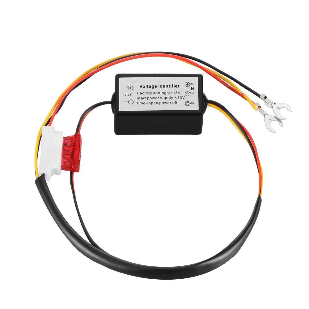 OurLeeme controlador DRL del coche LED de circulaci/ón diurna luz de niebla de Dimmer de encendido//apagado