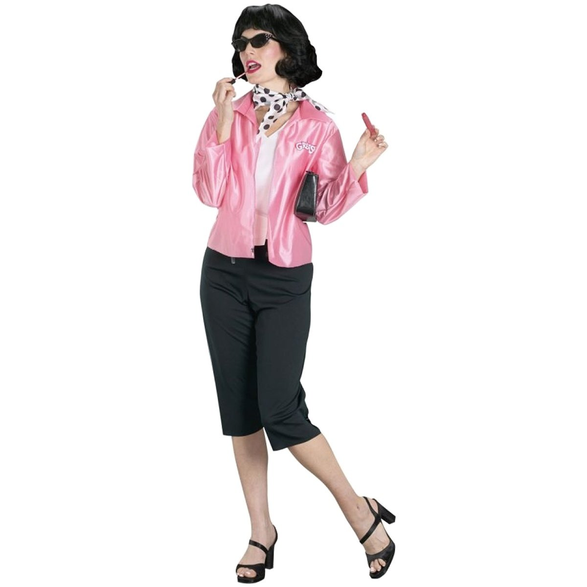 Amazon.com GREASE PINK LADY Clothing