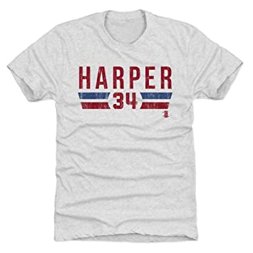 2af42ba49 500 LEVEL s Bryce Harper Premium T-Shirt S Tri Ash - Bryce Harper Font R