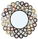 Home Source Industries 400-25829 Decorative Mirrors, 30.31 by 30.31 by 0.8-Inch
