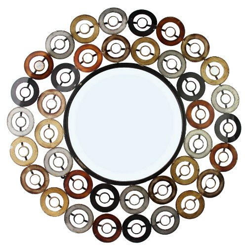 Home Source Industries 400-25829 Decorative Mirrors, 30.31 by 30.31 by 0.8-Inch by Home Source