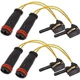 4 PCS 2205401717 2115401717 Brake Pad Wear Sensor Compatible with Mercedes Front Rear Brake Pad Wear Sensor W220 W211…