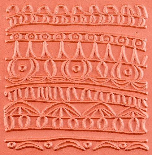 Jewelry Artist Supply Garden Path Texture Mat - 3'' X 3'' by Jewelry Artist Supply