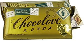 product image for Chocolove Xoxox Bar Extra Strong Dark Chocolate 3.2 oz. (Pack of 12)