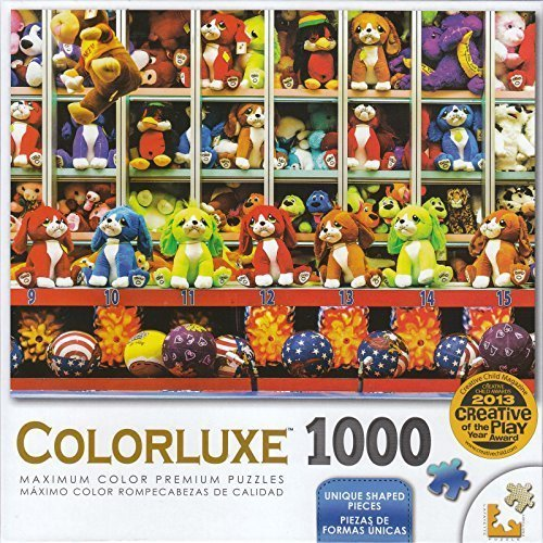 Coloreluxe 1000 Piece Puzzle - Carnival Game by LPF by LPF