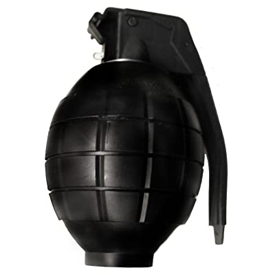 Toyland Kids Army Toy Black Hand Grenade - with Flashing Light & Sound - Role Play [Toy]: Toys & Games