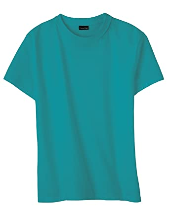 Hanes Womens 4.5 oz., 100% Ringspun Cotton nano-T T-Shirt (SL04 ...