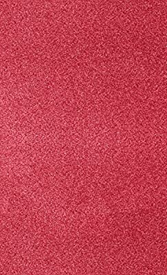 8 1/2 x 14 Cardstock - Holiday Red Sparkle (50 Qty) | Perfect for Holiday crafting, invitations, scrapbooking and so much more! | 106lb Paper | 81214-C-MS08-50