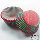 in 100pcs Muffin Cupcake Wrapper Paper Cases Liners Cups
