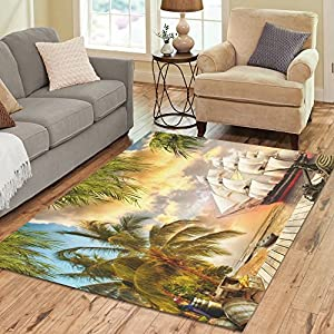 617WVqGN02L._SS300_ Palm Tree Area Rugs and Palm Tree Runners