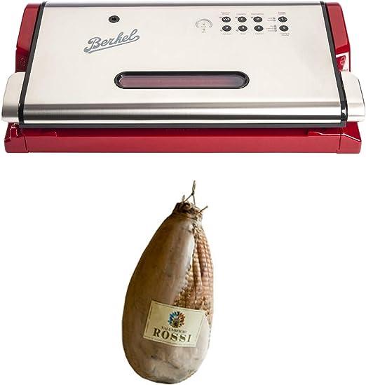 Berkel - Vacuum - Máquina de vacío + Salumificio Rossi PARMA - Culaccia - Entero sin anchetta, vacío (marca registrada Rossi) : Amazon.es: Hogar