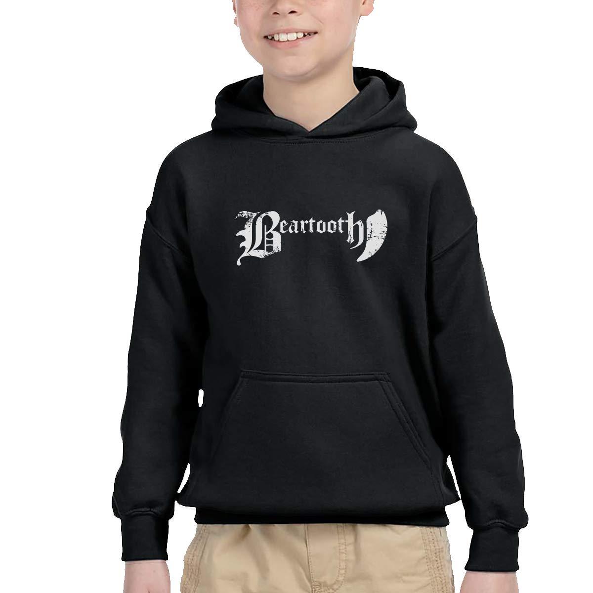 Beartooth Band Teenager Hip Hop Pullover Hoodie Sweater with Kangaroo Pocket Hooded Sweatshirts