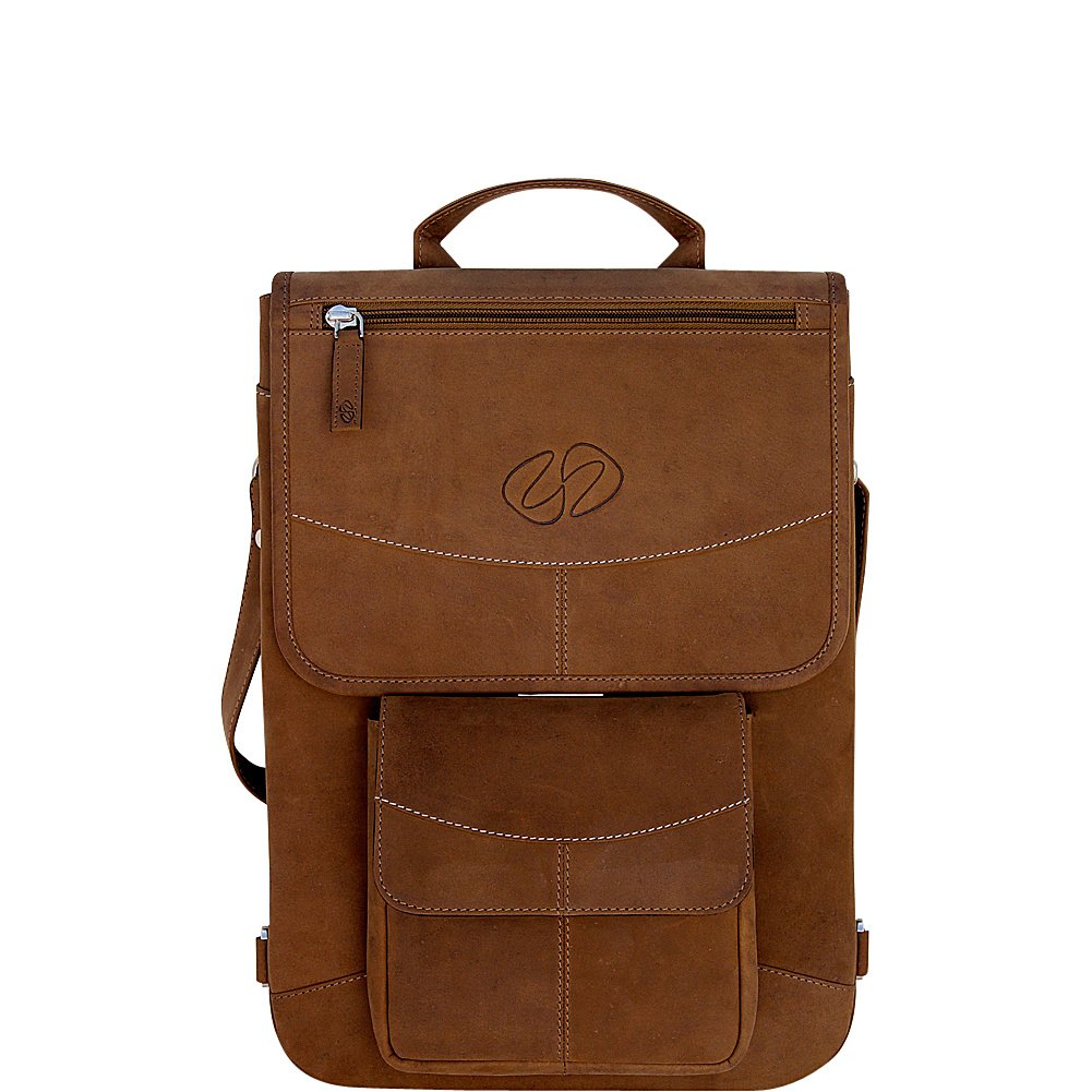 MacCase Premium Leather 12'' MacBook Flight Jacket (Vintage) by MacCase