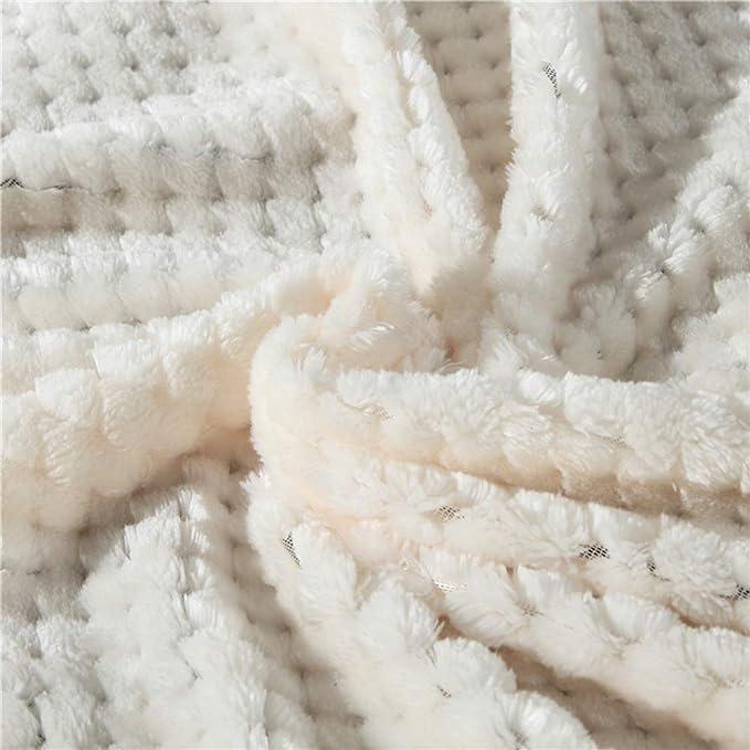 200Cm BYNSM Christmas Solid Color Decke Komfortable Doppelseitige Mikrofaserdecke Weiche Warme Graue Lammfelldecke Bettdecke Flanell Mikrofaser Geschenkdecke,150