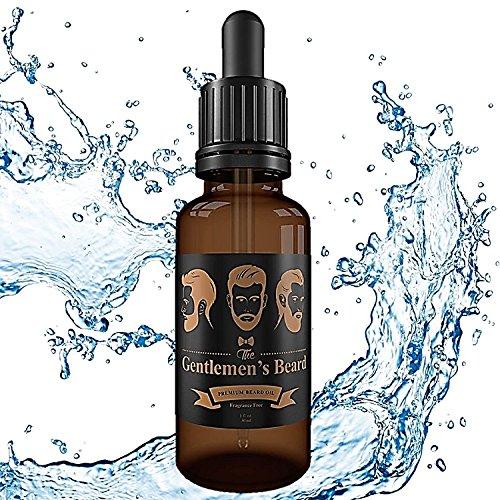 The Gentlemen's Beard - Premium Beard Oil Leave-in Conditioner & Softener - Fragrance Free