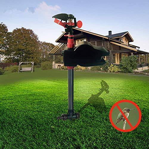 FDGBCF Animal Away Scarecrow Garden Jet Spray Repellent Driving Small Animals Repellent Hi-Tech Solenoid Valve Used