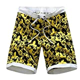 Perfect-Sense-Show 7-14yrs Camouflage Boys Beach Shorts Beach Shorts Summer Children Swim Shorts Surf Campaign Quick