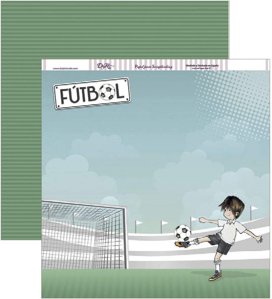 Dayka Trade Football Scrapbooking Paper One Size Multi-Colour
