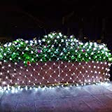 Christmas Net Lights, Connectable 11.5ft x 5ft