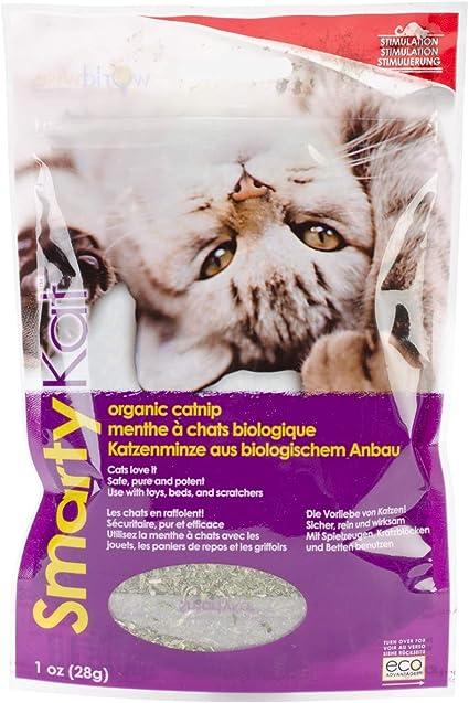 Amazon Com Smartykat Organic Catnip 1 Oz Catnip Treats Pet