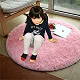 YOH Super Soft Round 4x4 Feet Area Rugs for Bedroom