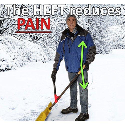 Buy ergonomic snow shovel
