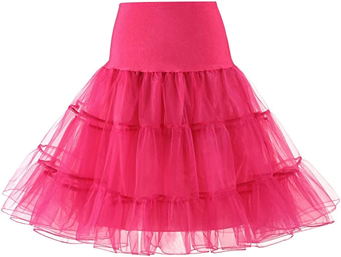Waniba Faldas Tul Mujer Niña Enaguas Cortas Tutus Ballet Mini para ...
