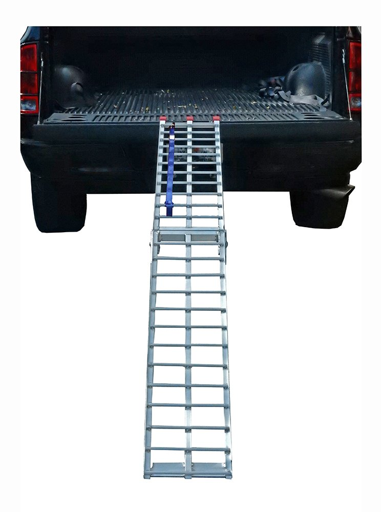 Pit Posse PP2755-9 Folding Arched Ramp 9 Foot x 11in 600lbs