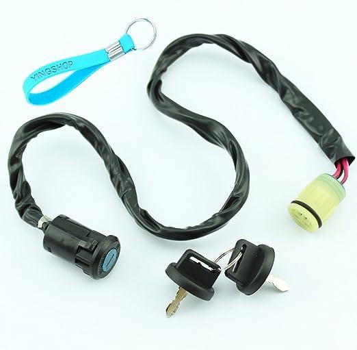 Ignition Switch Key For Honda Rancher TRX350 400 650 Foreman TRX450 500
